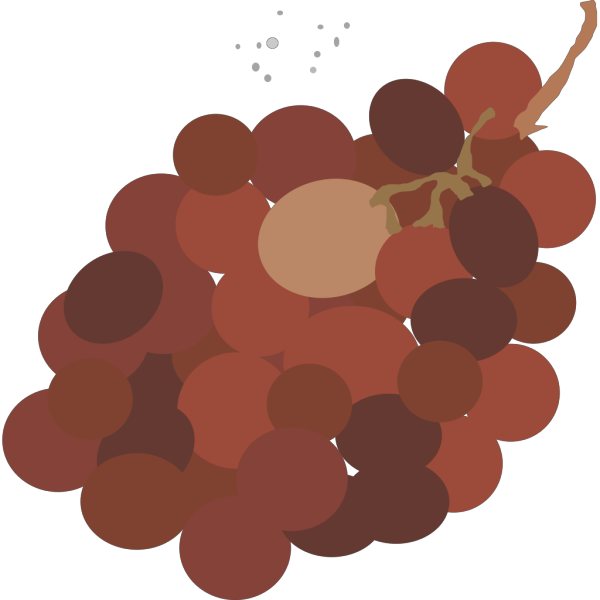 Red Grapes PNG Clip art