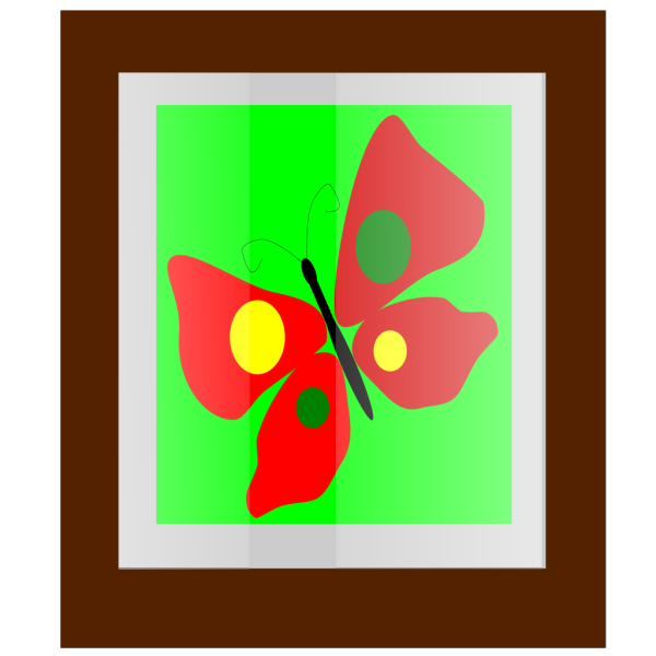 Butterfly Frame PNG Clip art