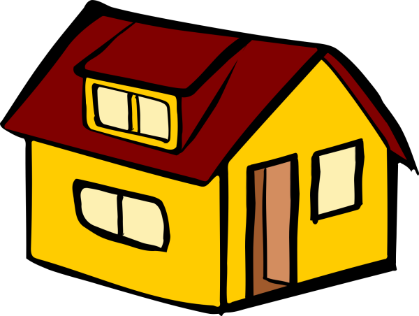 Isocity Brown House PNG Clip art
