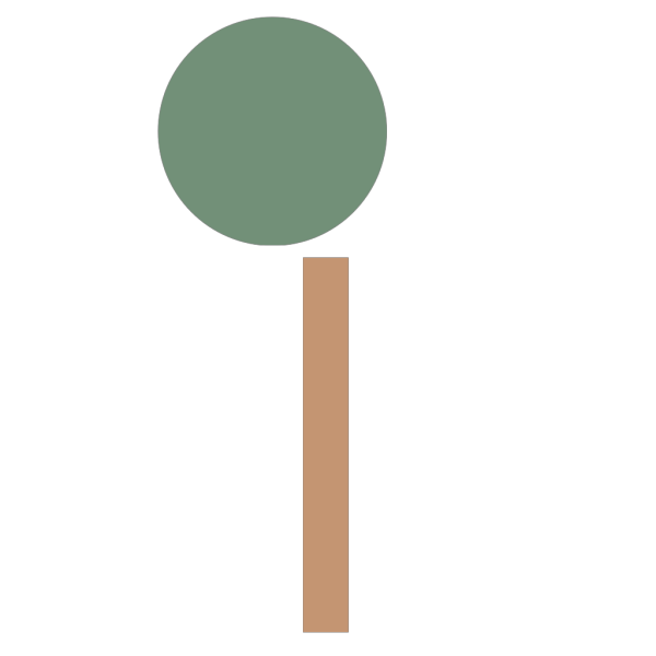 Simple Tree PNG icons
