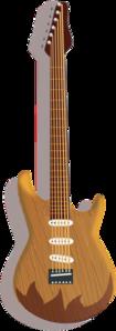 Wood Guitar PNG Clip art