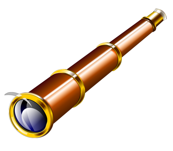 Telescope PNG clipart