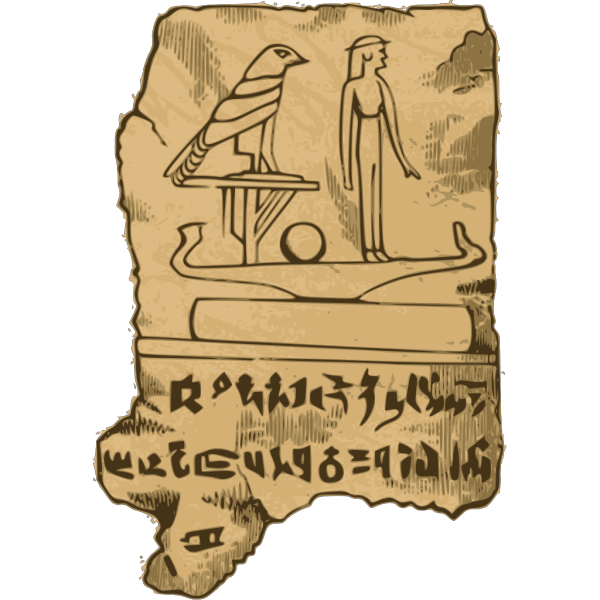 Egyption Tablet PNG Clip art