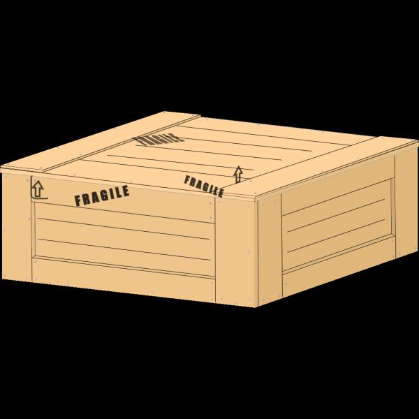 Wood Crate PNG Clip art