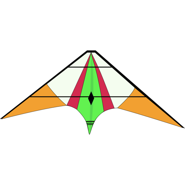 Blue Kite PNG Clip art
