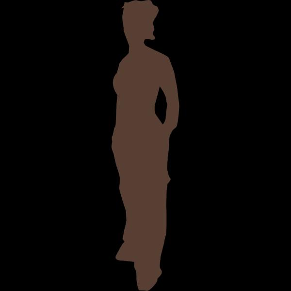 Girl Standing PNG Clip art