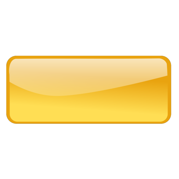 Yellow Rectangle Button PNG Clip art