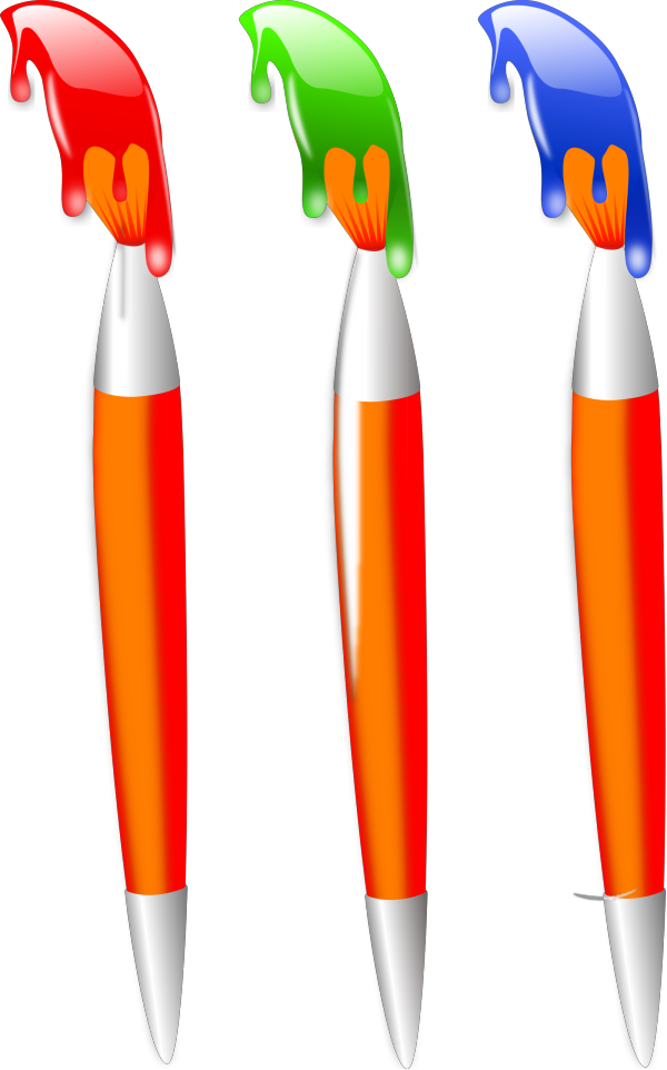 Primary Paint PNG Clip art