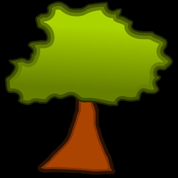 Cartoonish Tree PNG Clip art