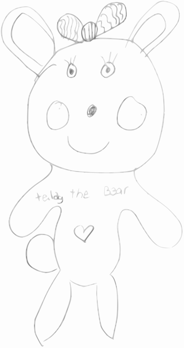 Teddy Bear Face PNG icon