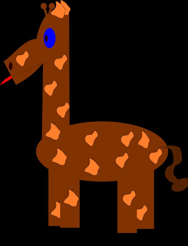 Giraffe Face PNG Clip art