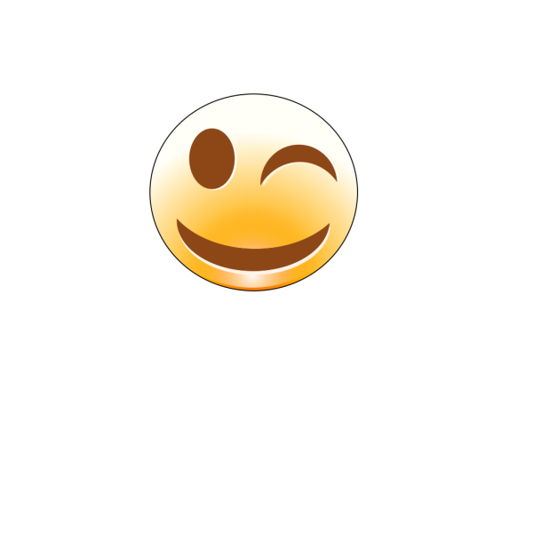 Winking Smiley PNG image
