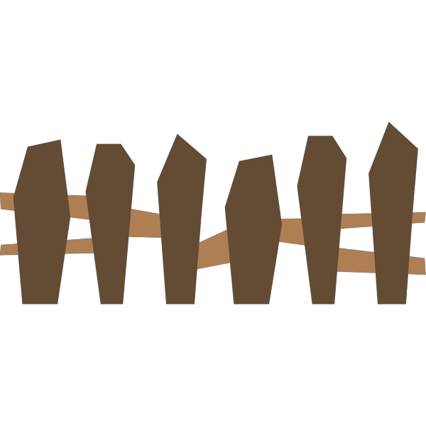 Wooden Fence PNG Clip art