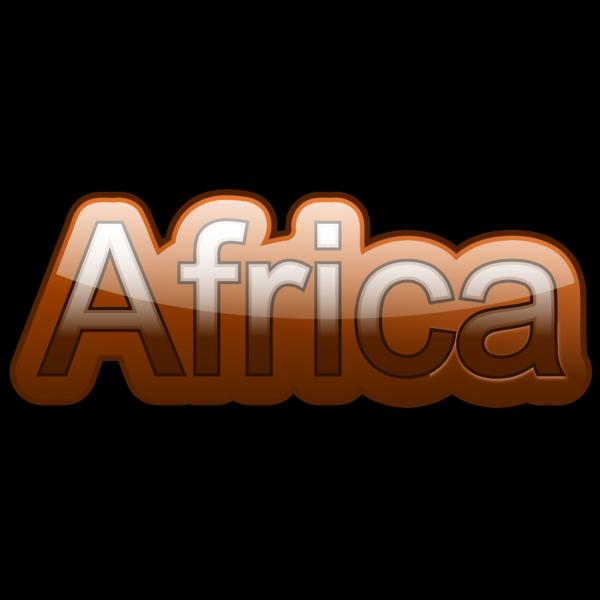 Africa-text PNG Clip art