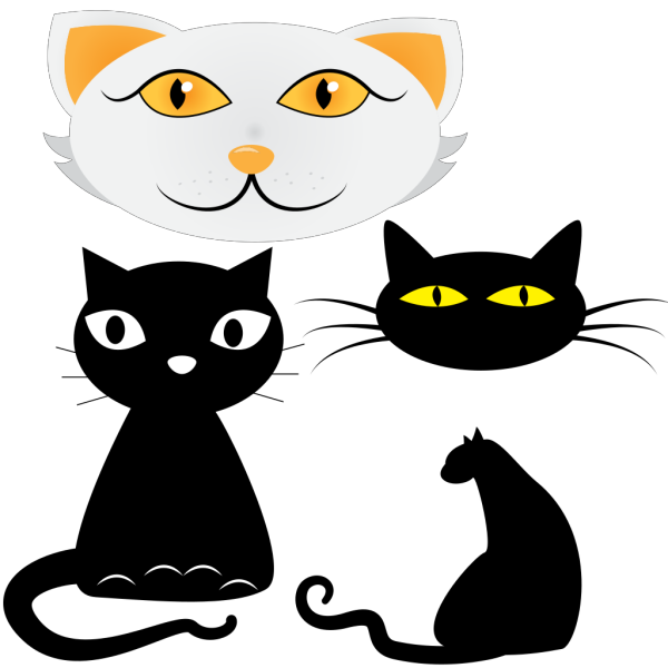Graffiti Cats PNG Clip art