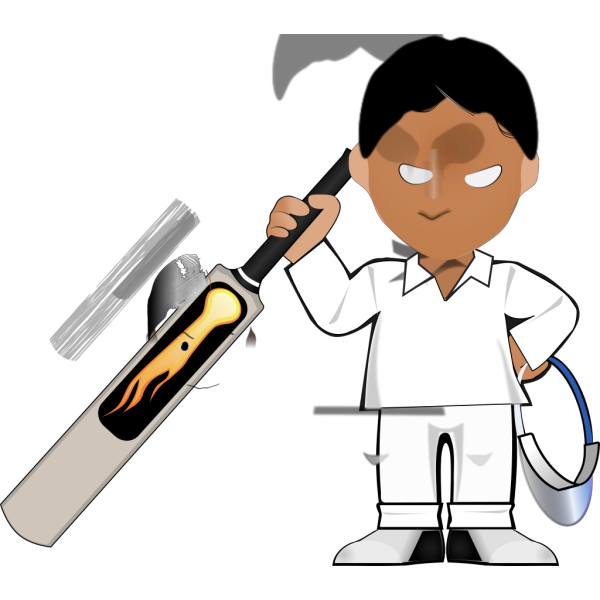 Kobo Cricket Toon PNG images