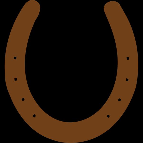 Brown Horseshoe PNG Clip art