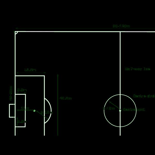 11 Football Ground PNG Clip art