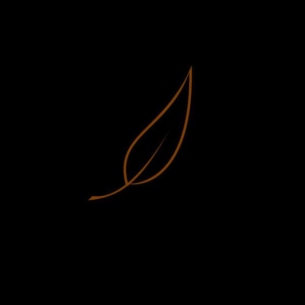 Brown Tea Leaf PNG Clip art