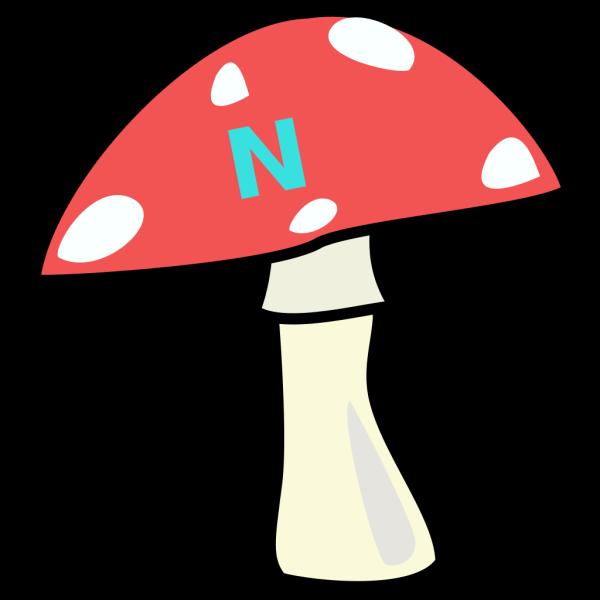 Red Top Mushroom Brown PNG images