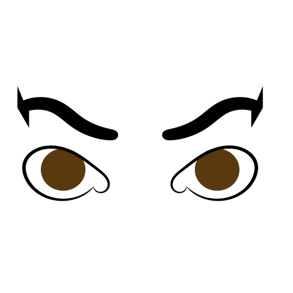 Angry Eyes PNG Clip art