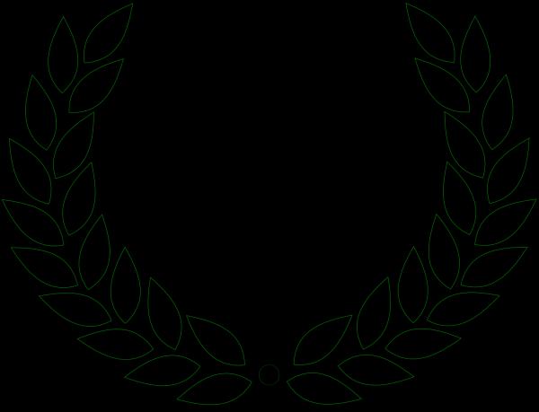 Brown Laurel PNG Clip art