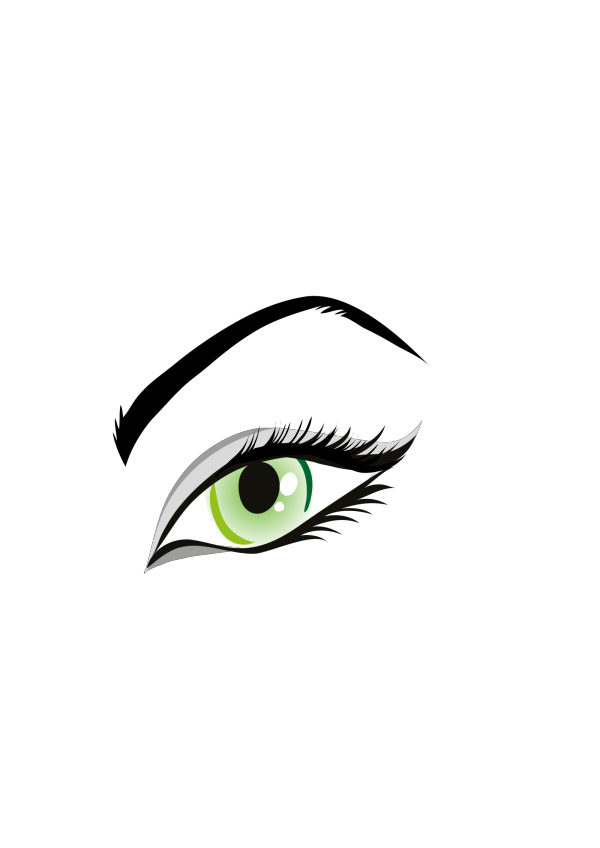 Simple Eye PNG Clip art