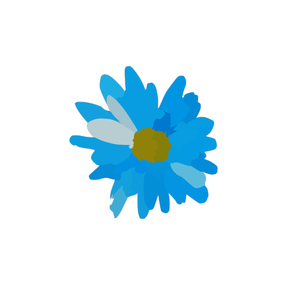 Brown Diamond Flower PNG Clip art
