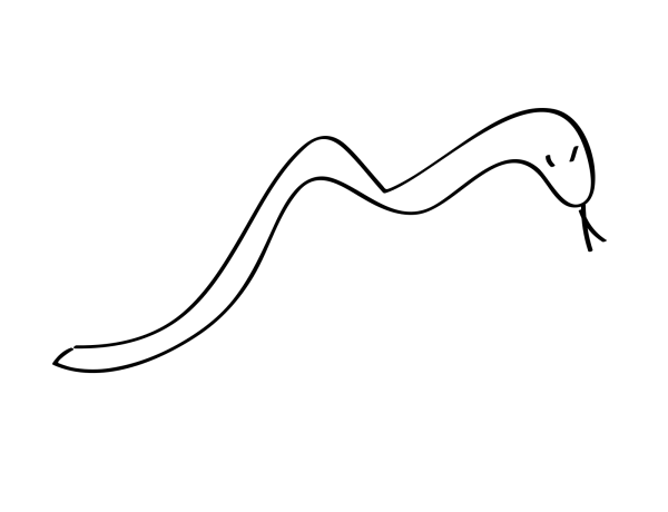 Brown Rattle Snake PNG Clip art
