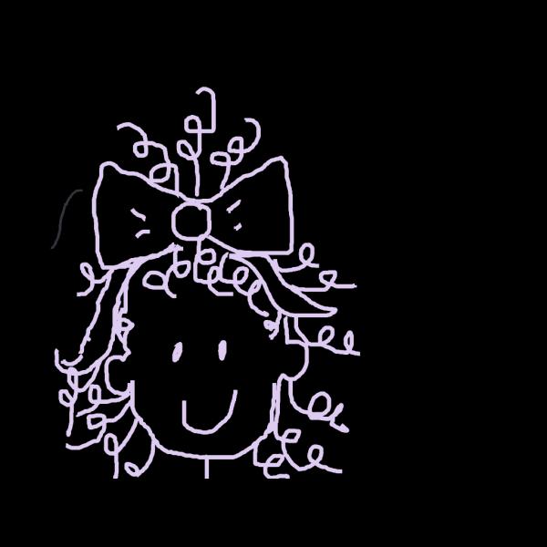 Smiling Short Brown Hair Girl PNG Clip art