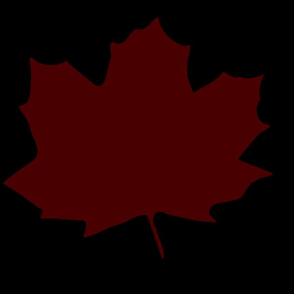Dark Brown Leaf PNG Clip art