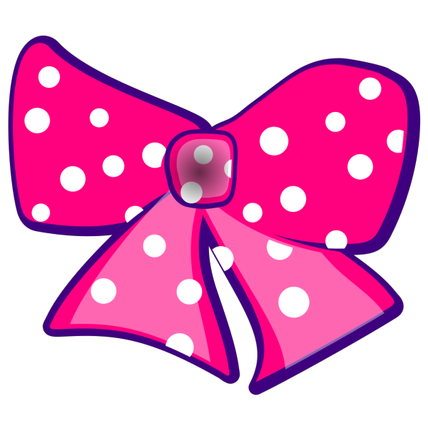 Brown Pink Bow PNG Clip art