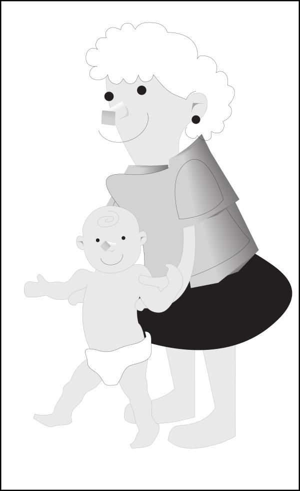 Brown Baby PNG Clip art