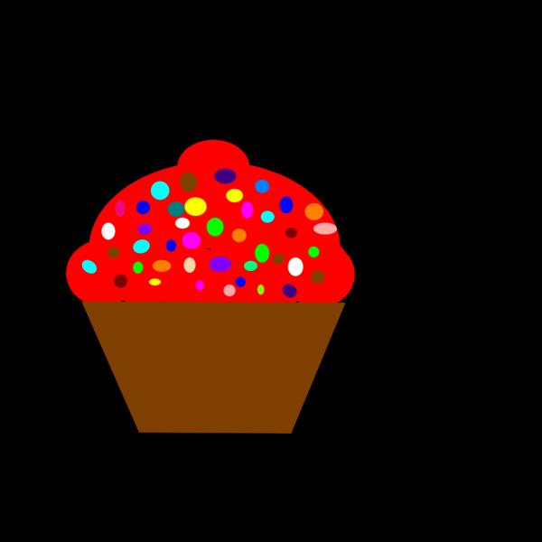 Cupcake Brown PNG Clip art