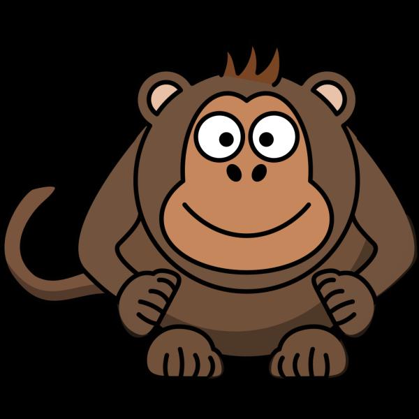Light Brown Monkey PNG Clip art