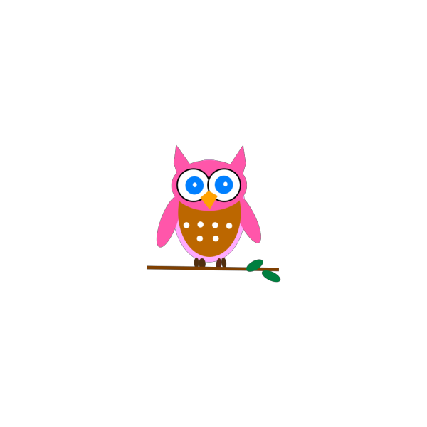Pink Owl PNG icon