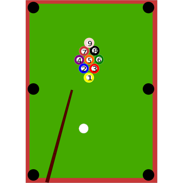 Pool Table PNG Clip art