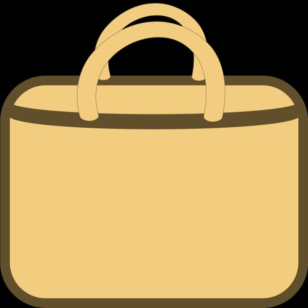 Brown Shopping Bag PNG Clip art