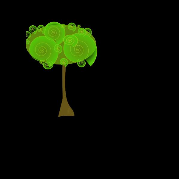 Geometric Tree PNG Clip art