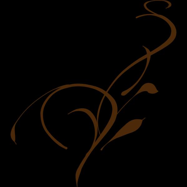 Olive Dark Brown Vine PNG Clip art