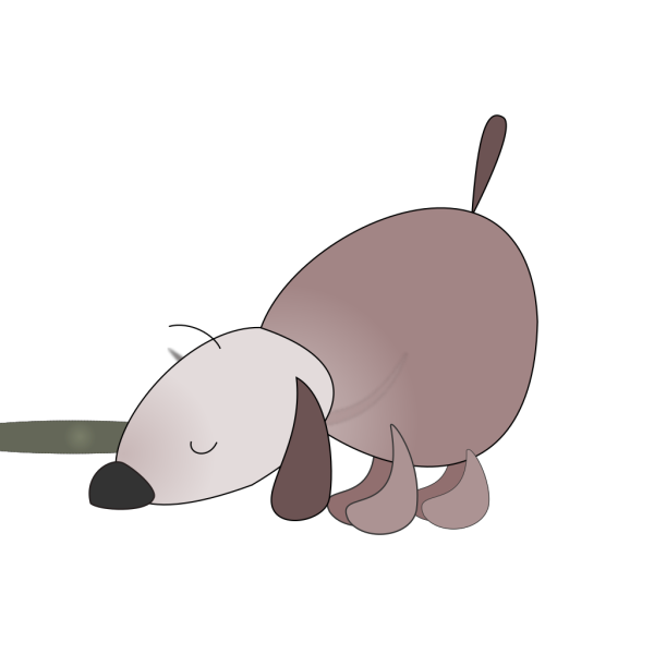 Sniffing Dog PNG Clip art