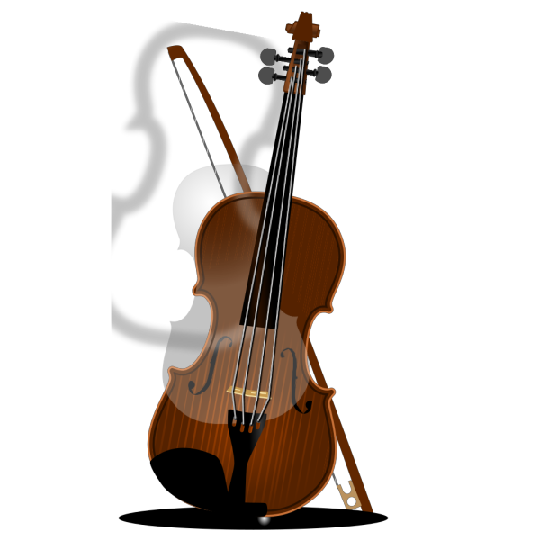 Violin Silhouette PNG images
