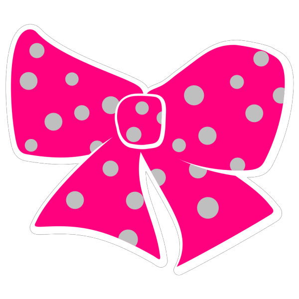 Hair Bow PNG clipart