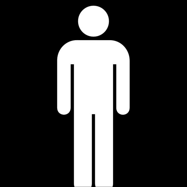 Toilet Man, Dark Brown PNG Clip art