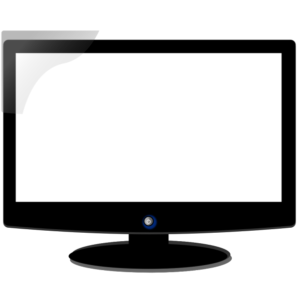 Computer Monitor - Brown PNG Clip art