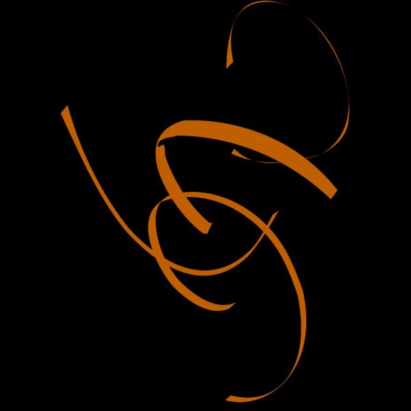 Tan Swirl Lg PNG Clip art