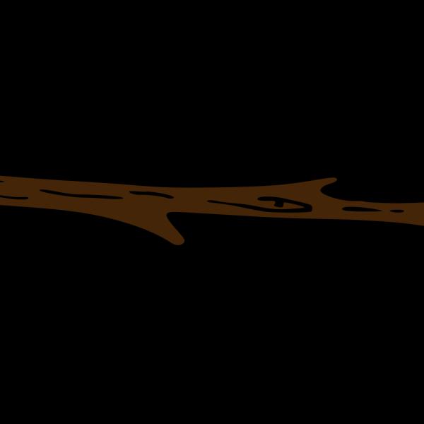 Big Brown Tree Branch PNG Clip art