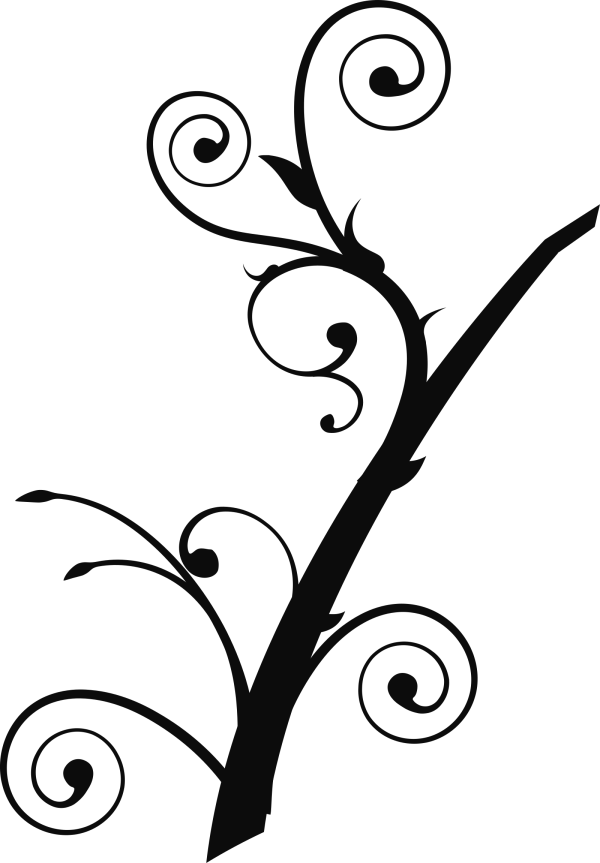 Simple Branch 1 PNG clipart