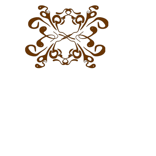 Crown Swirl Design PNG Clip art