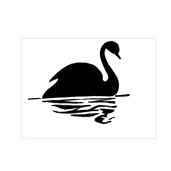 Swimming Duckling PNG Clip art